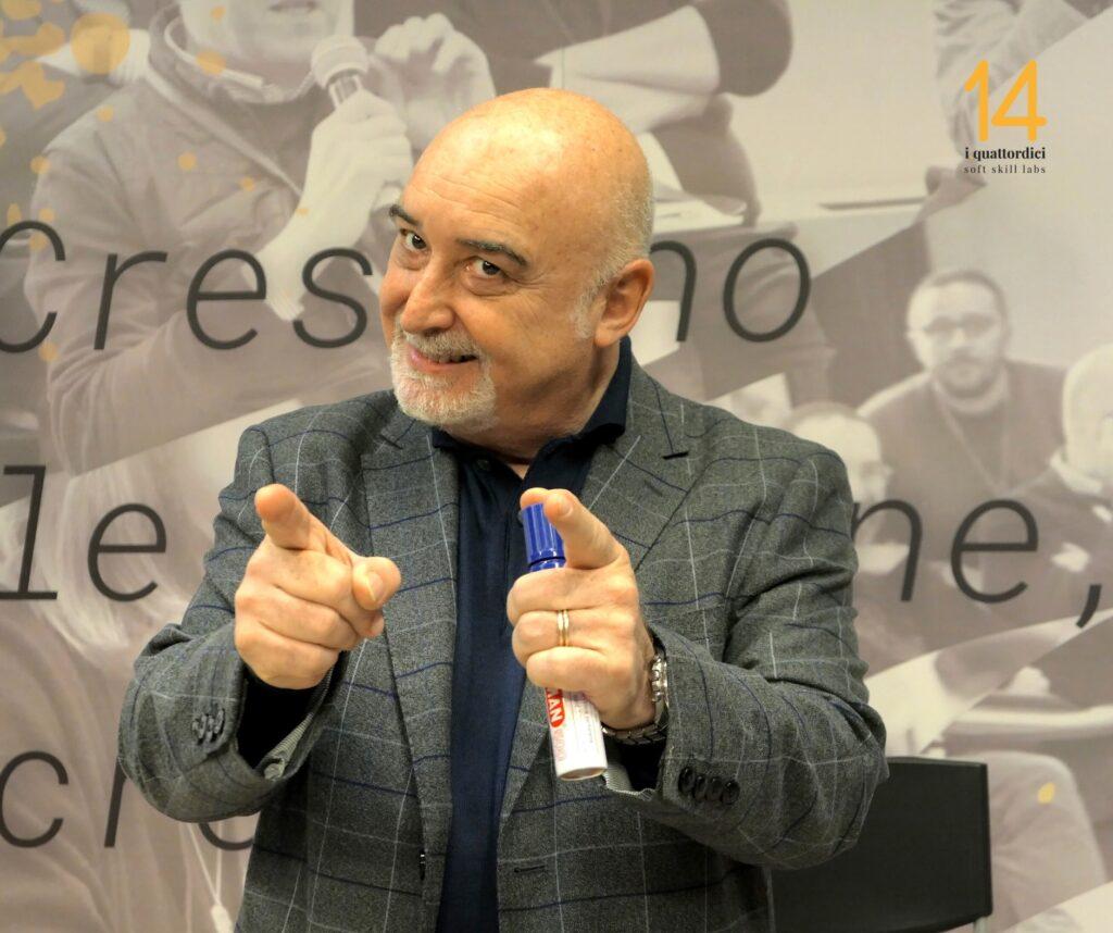 Vito Carnimeo in aula per i14 Soft Skill Labs