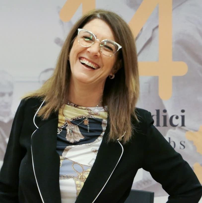 Alessandra Strafile in aula per i14 Soft Skill Labs